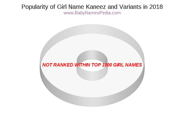 Variant Popularity Chart  for Kaneez  in 2018