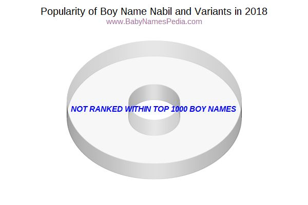 Variant Popularity Chart  for Nabil  in 2018