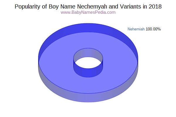 Variant Popularity Chart  for Nechemyah  in 2018