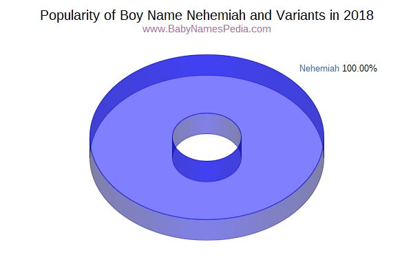 Variant Popularity Chart  for Nehemiah  in 2018