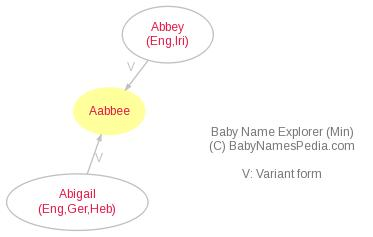 Baby Name Explorer for Aabbee