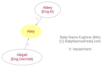 Baby Name Explorer for Abey