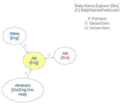 Baby Name Explorer for Abi