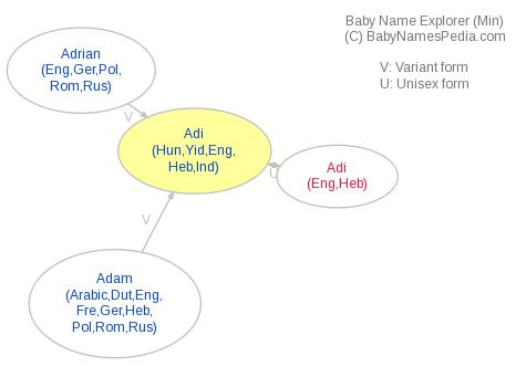 Baby Name Explorer for Adi