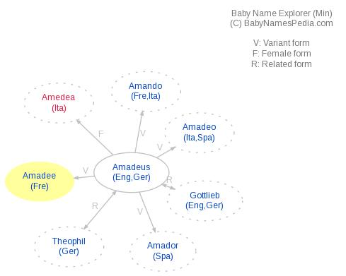 Baby Name Explorer for Amadee