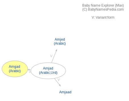Baby Name Explorer for Amgad