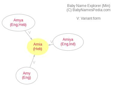 Baby Name Explorer for Amia