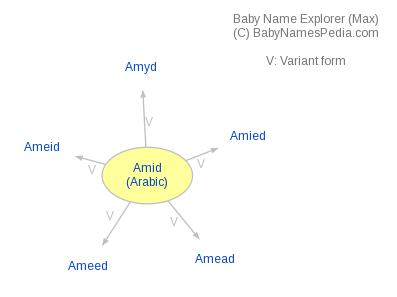 Baby Name Explorer for Amid