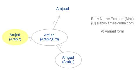 Baby Name Explorer for Amjed