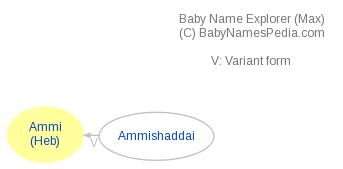 Baby Name Explorer for Ammi