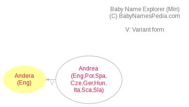 Baby Name Explorer for Andera