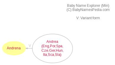 Baby Name Explorer for Andrena