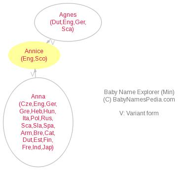 Baby Name Explorer for Annice