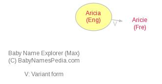 Baby Name Explorer for Aricia