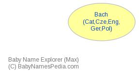 Baby Name Explorer for Bach