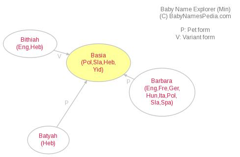 Baby Name Explorer for Basia