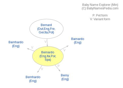 Baby Name Explorer for Bernardo
