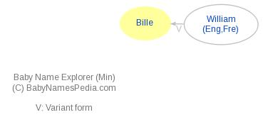 Baby Name Explorer for Bille