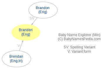 Baby Name Explorer for Branden