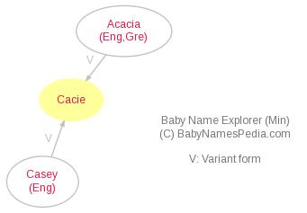 Baby Name Explorer for Cacie