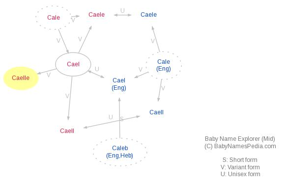 Baby Name Explorer for Caelle