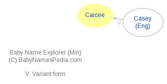 Baby Name Explorer for Caicee