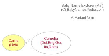 Baby Name Explorer for Carna