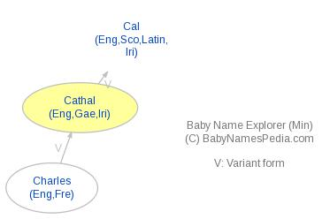 Baby Name Explorer for Cathal