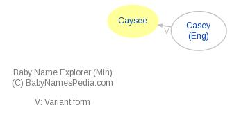 Baby Name Explorer for Caysee