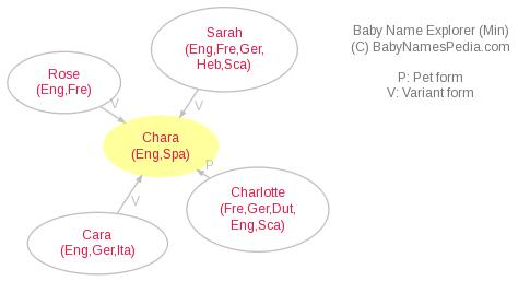 Baby Name Explorer for Chara