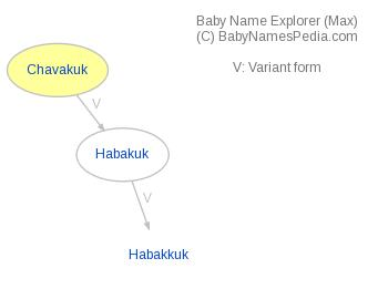 Baby Name Explorer for Chavakuk