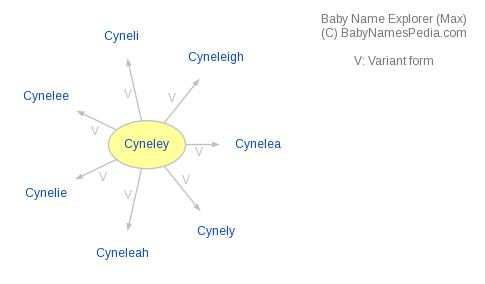 Baby Name Explorer for Cyneley