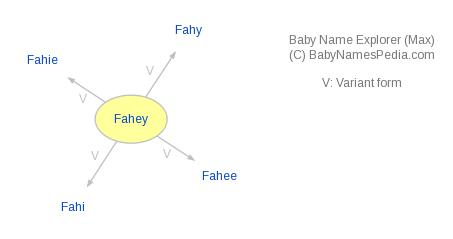 Baby Name Explorer for Fahey