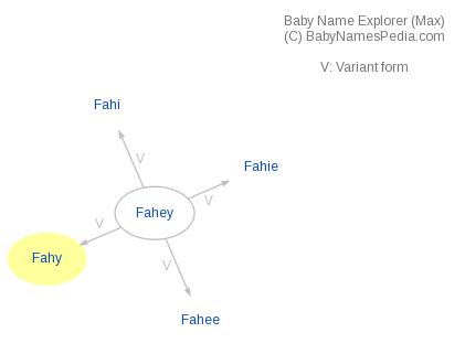 Baby Name Explorer for Fahy