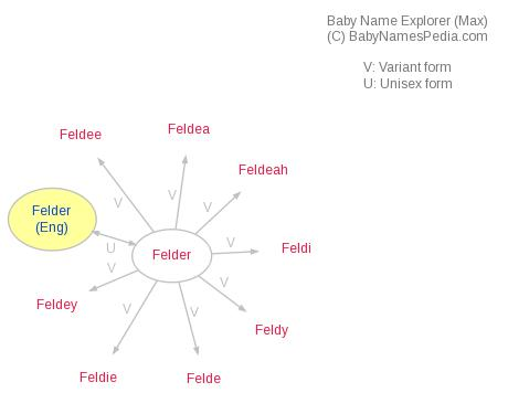 Baby Name Explorer for Felder