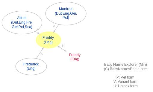 Baby Name Explorer for Freddy