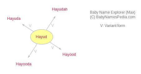 Baby Name Explorer for Hayud