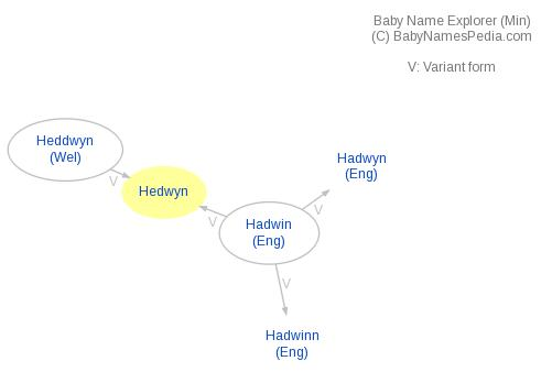 Baby Name Explorer for Hedwyn