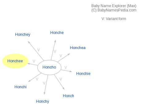 Baby Name Explorer for Honchee
