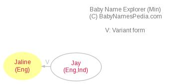Baby Name Explorer for Jaline