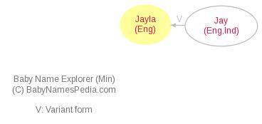 Baby Name Explorer for Jayla