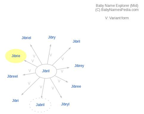 Baby Name Explorer for Jibrie