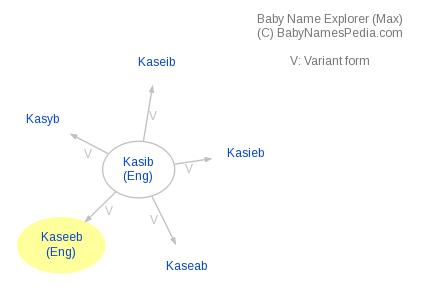 Baby Name Explorer for Kaseeb