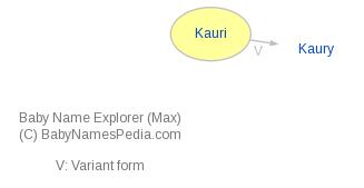 Baby Name Explorer for Kauri