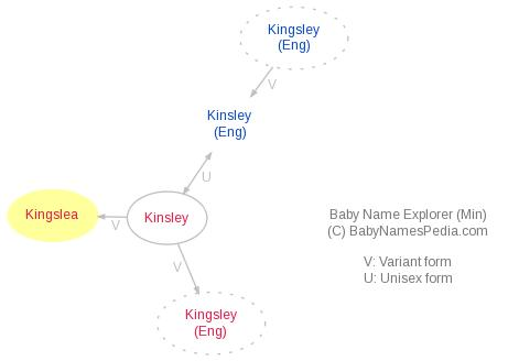 Baby Name Explorer for Kingslea