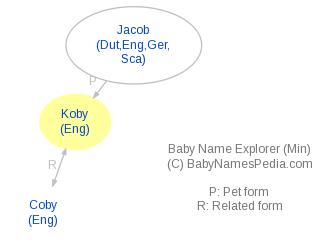 Baby Name Explorer for Koby