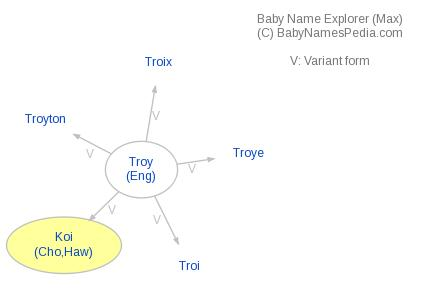 Baby Name Explorer for Koi