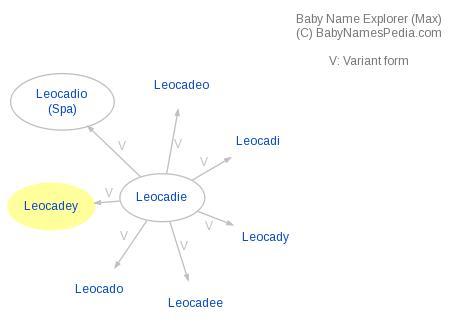 Baby Name Explorer for Leocadey
