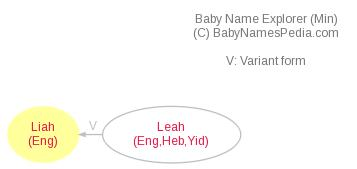 Baby Name Explorer for Liah