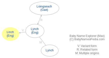 Baby Name Explorer for Linch